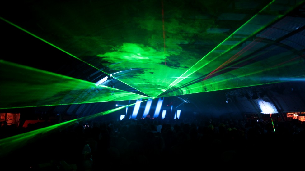 KBK Visuals - X-RAY at Lowlands Festival 2012