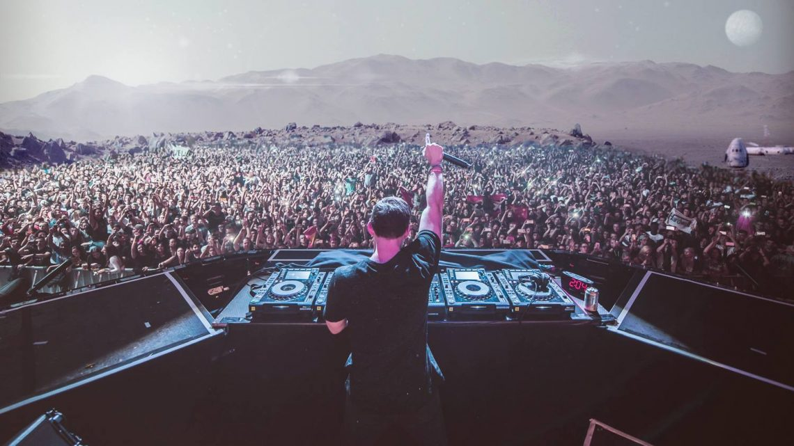KBK Visuals Hardwell DJ Tour 2016