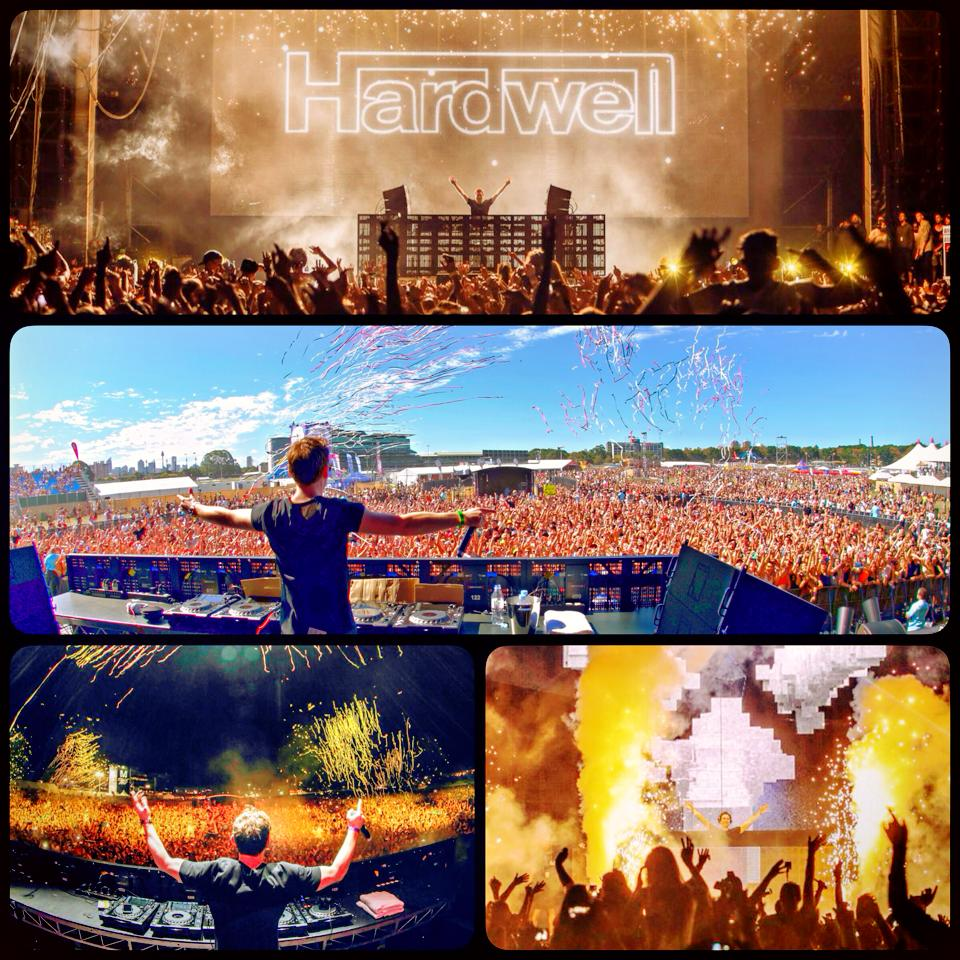 KBK Visuals Hardwell DJ tour Futuremusic
