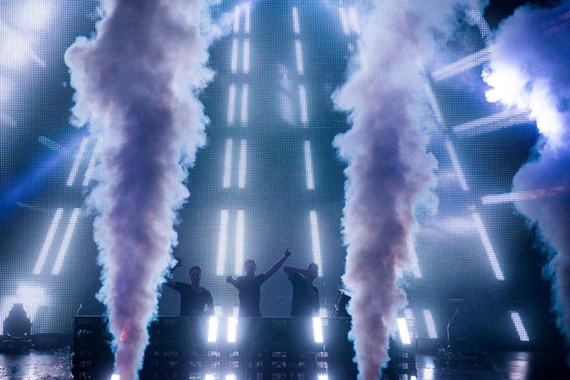 KBK Visuals Hardwell DJ tour Perth