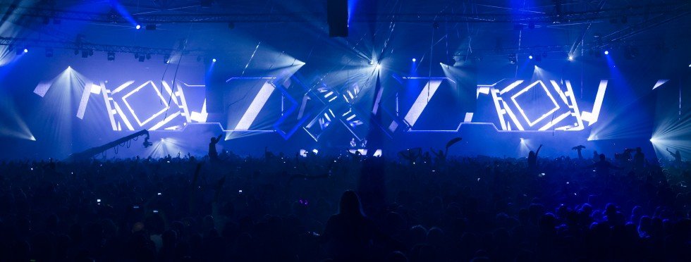 KBK Visuals @ Eyesupply at ADE - AMF 2013 with Hardwell