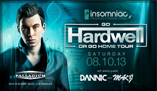 Go Hardwell Or Go Home at Hollywood Palladium 2013