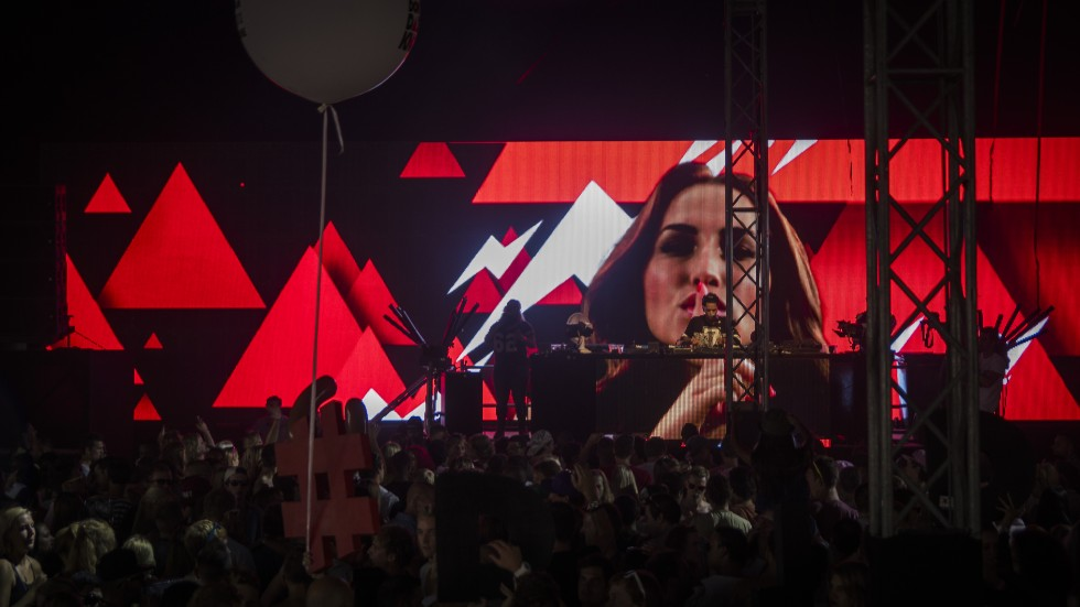 KBK Visuals at DLDK Mysteryland 2013