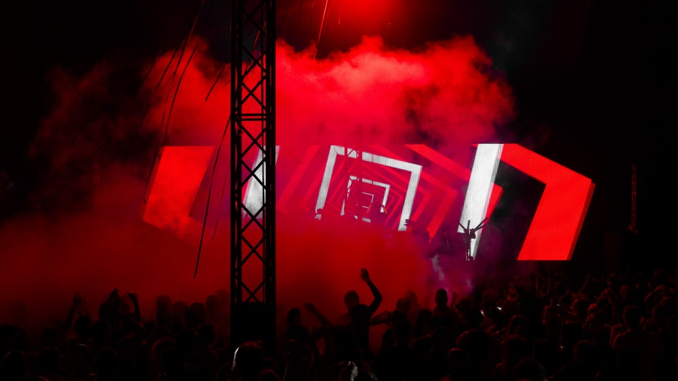 KBK Visuals at DLDK Mysteryland 2013