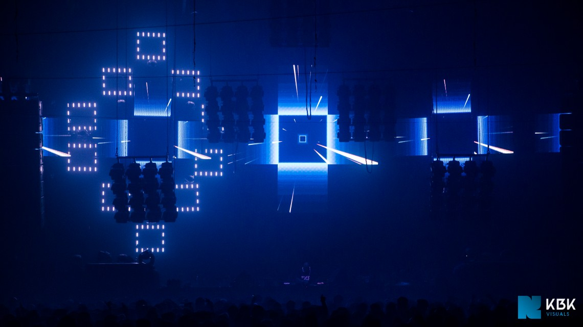 KBK Visuals at Awakenings NYE Special 2014