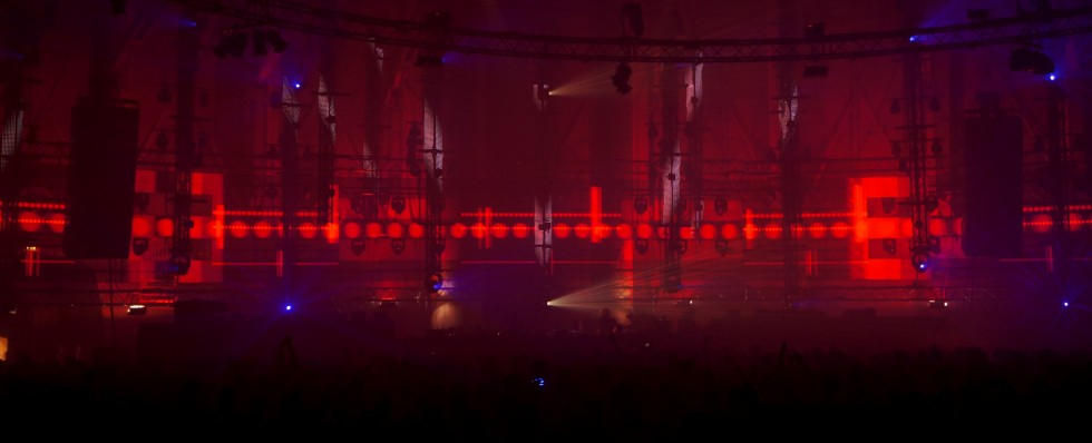 KBK Visuals at Awakenings Gashouder 2013