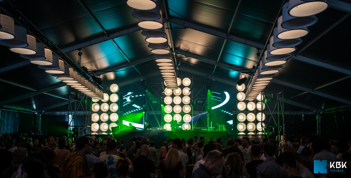 KBK Visuals at Awakenings Festival 2014