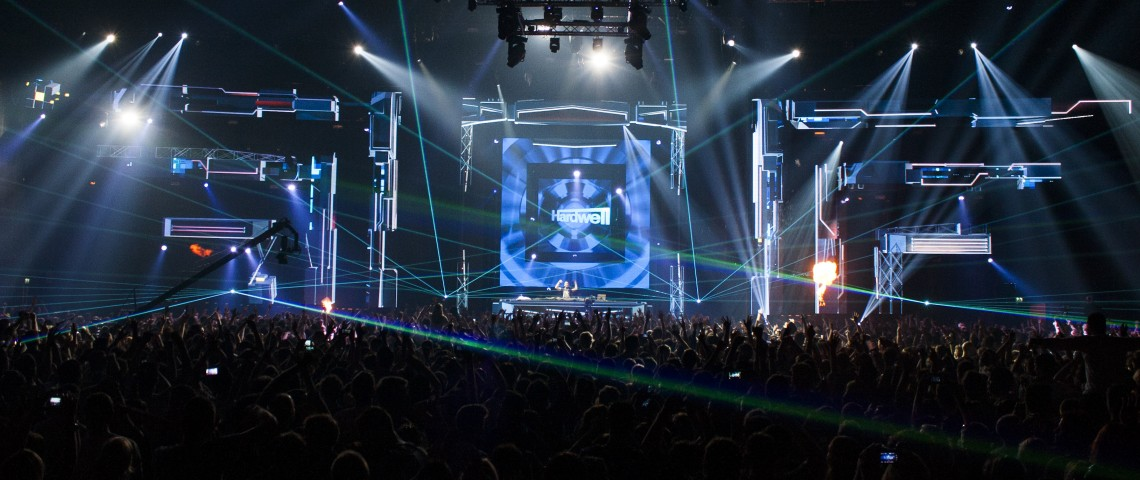 KBK Visuals - I am Hardwell World Tour
