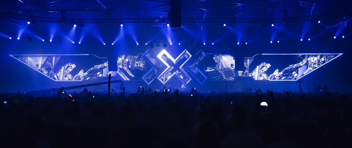 KBK Visuals - Hardwell DJ tour