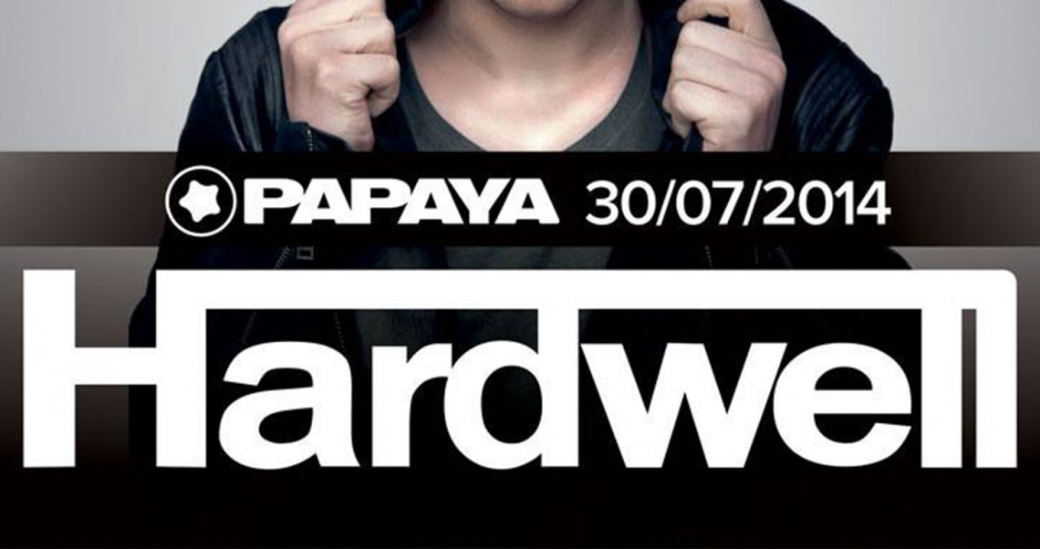 KBK Visuals at Papaya with Hardwell