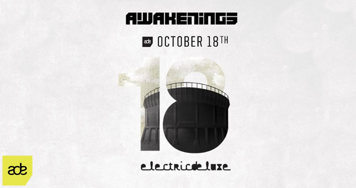 KBK Visuals at ADE Awakenings ElectricDeluxe
