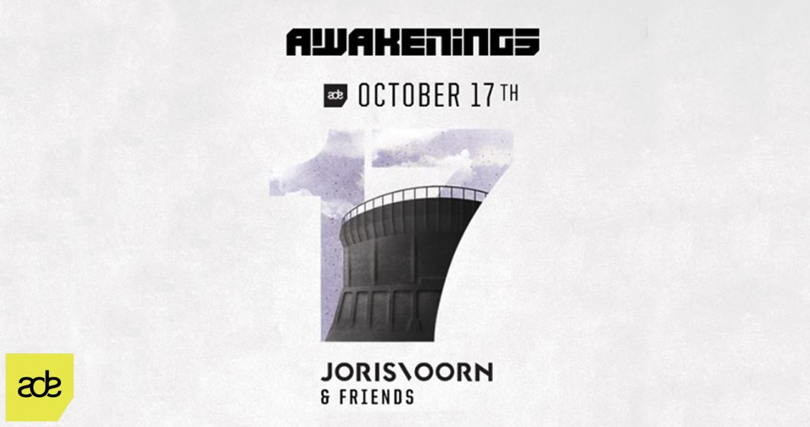 KBK Visuals at ADE Awakenings Joris Voorn & Friends