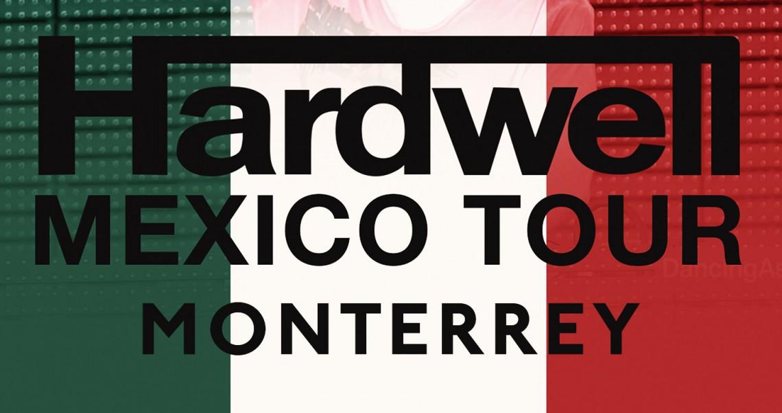 KBK Visuals with Hardwell Monterrey Mexico