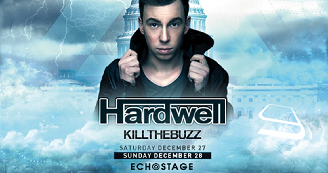 KBK Visuals at Echostage with Hardwell