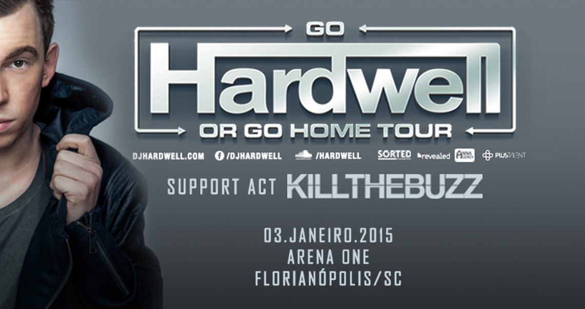 KBK Visuals at Go Hardwell or Go Home Florianopolis