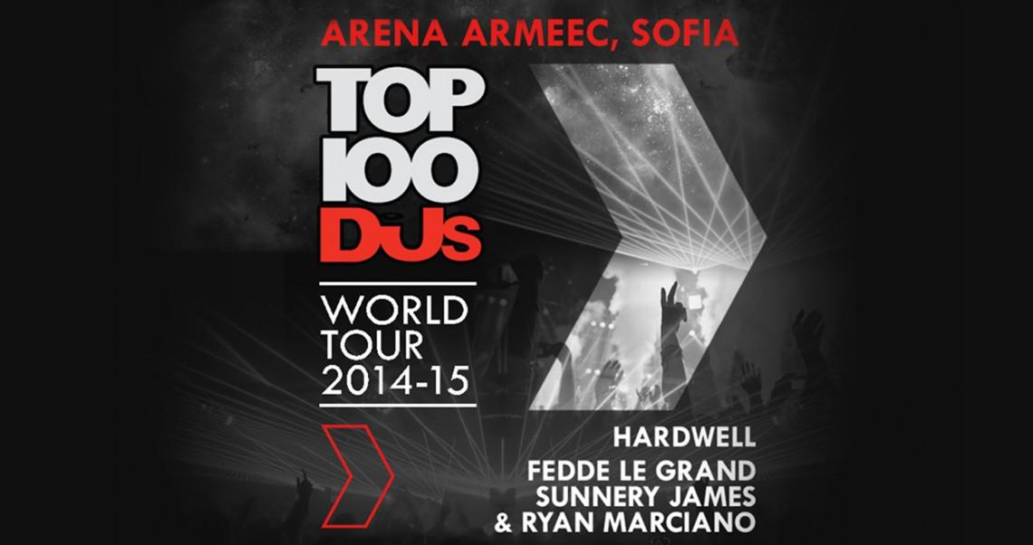 KBK Visuals at Top100DJs World Tour Sofia