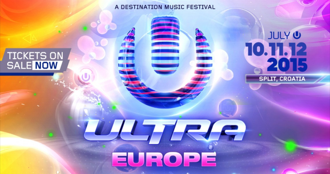 KBK Visuals at Ultra Europe 2015