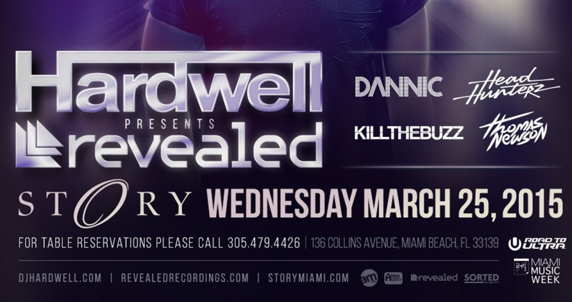 KBK Visuals at Hardwell Presents Revealed Story