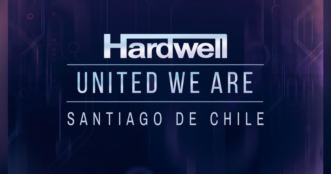 KBK Visuals at I am Hardwell United We are Santiago De Chile