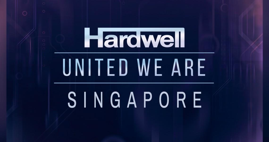 KBK Visuals at I am Hardwell United We are Singapore