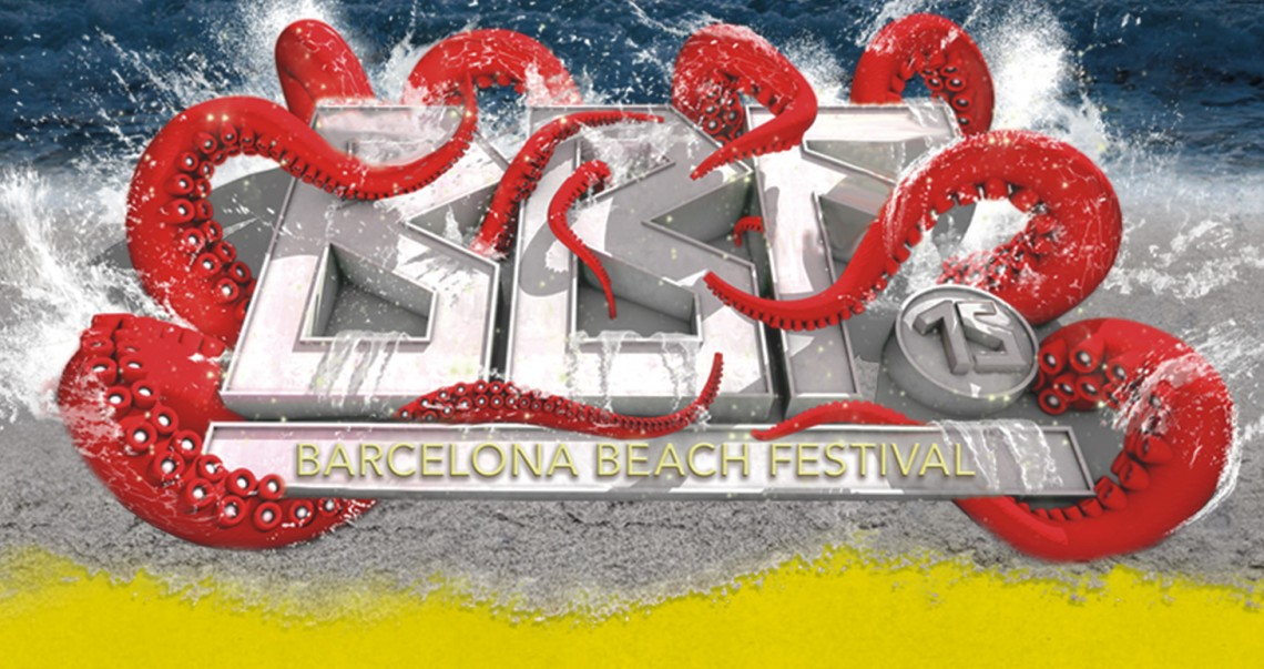 KBK Visuals at Barcelona Beach Fest