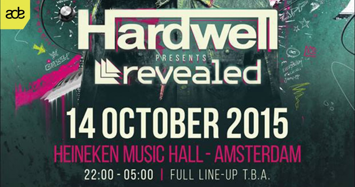 KBK Visuals at ADE Hardwell Presents Revealed ADE 2015