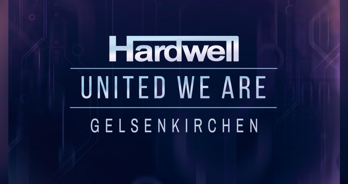 KBK Visuals at I am Hardwell United We are Gelsenkirchen