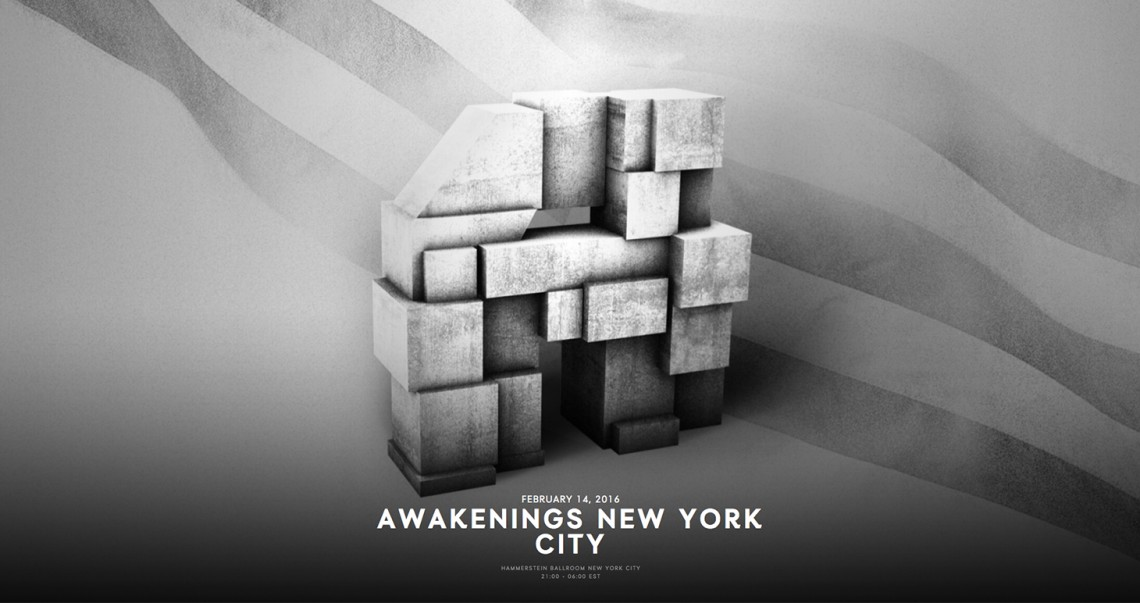 KBK Visuals at Awakenings NYC