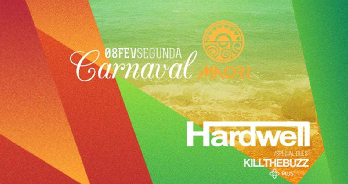 KBK Visuals at Hardwell Carnival Tour MAori Beachclub