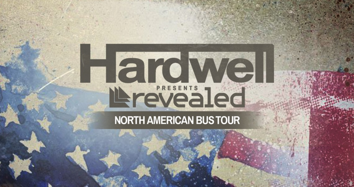 KBK Visuals at Hardwell presents Revealed North American Bus Tour