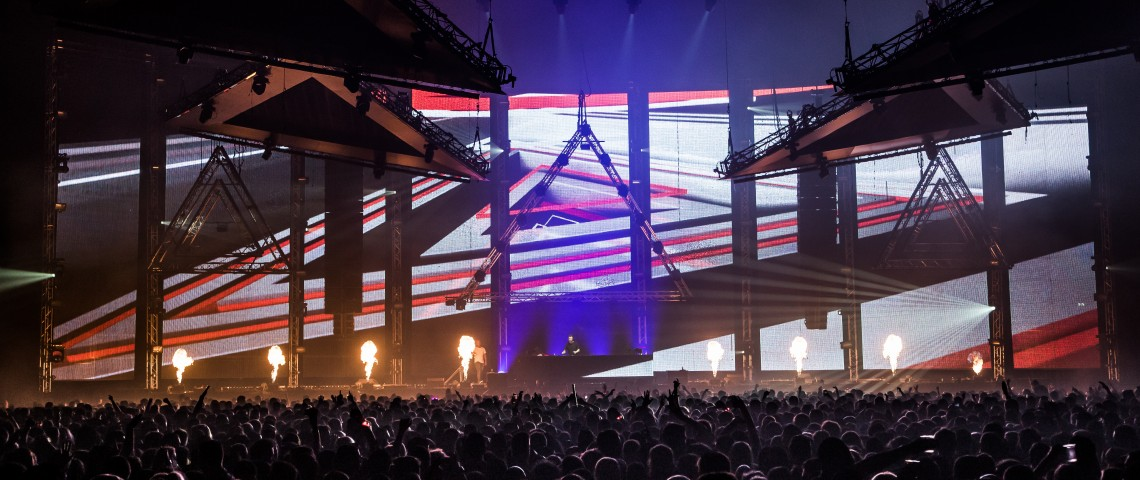 KBK Visuals at Don't Let Daddy Know Ziggo Dome