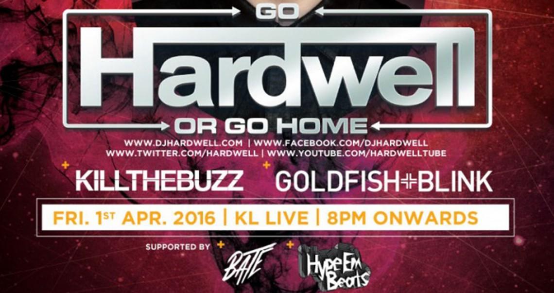KBK Visuals at Go Hardwell or Go Home Kuala Lumpur