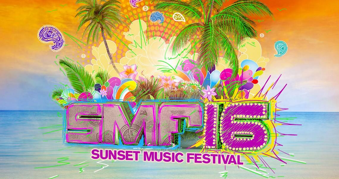 KBK Visuals at Sunset Music Festival 2016