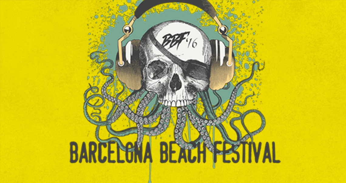 KBK Visuals at Barcelona Beach Festival 2016