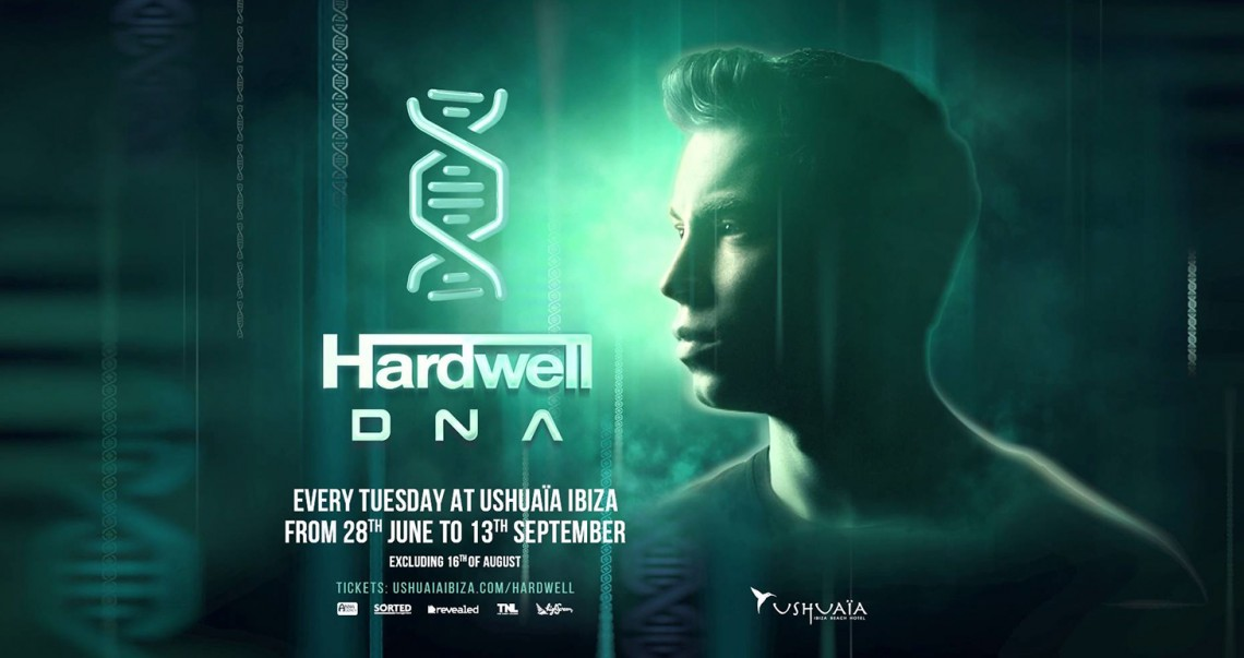 KBK Visuals at Hardwell DNA