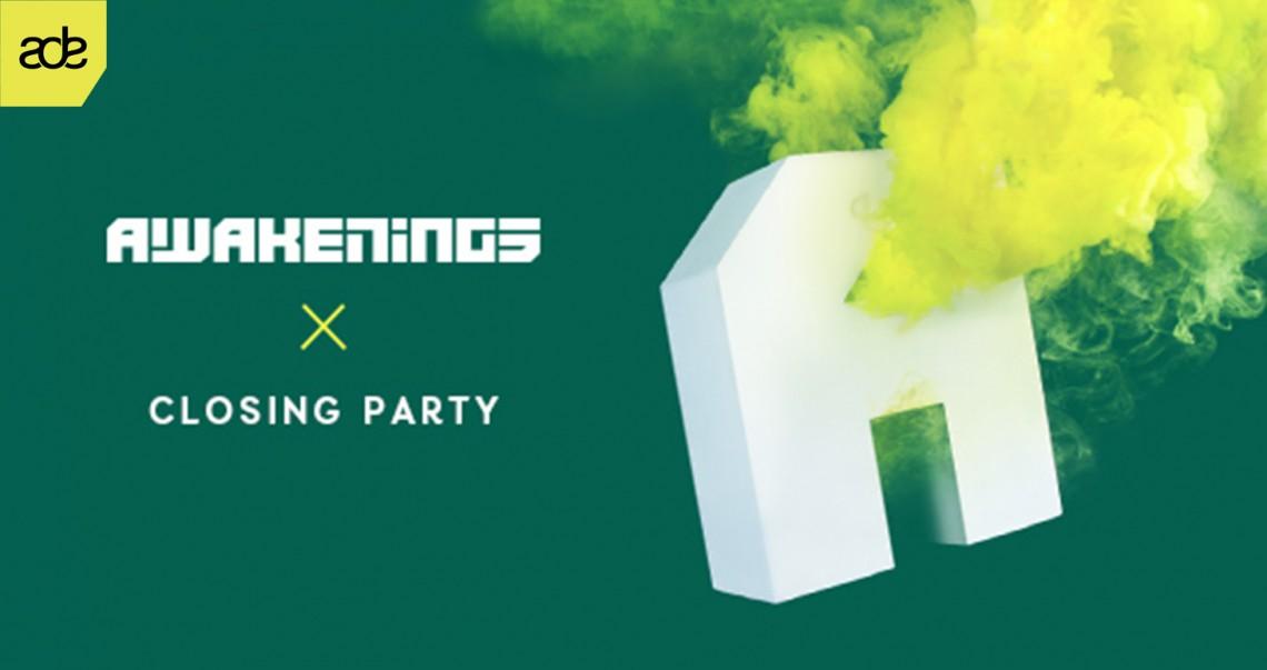 KBK Visuals at Awakenings Closing Party ADE