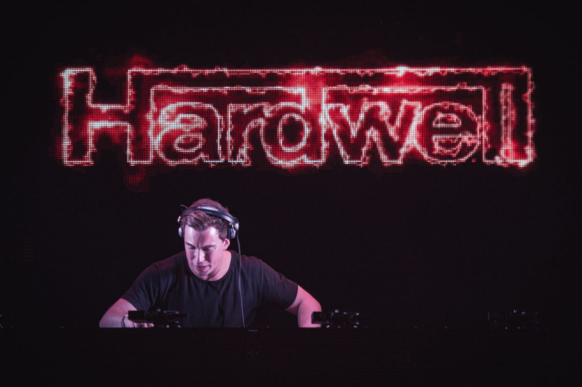 KBK visuals Hardwell DNA Ibiza