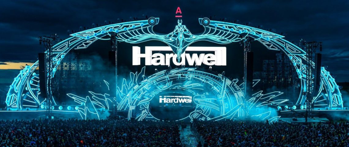 KBK visuals at Alfa Future People 2017 with Hardwell