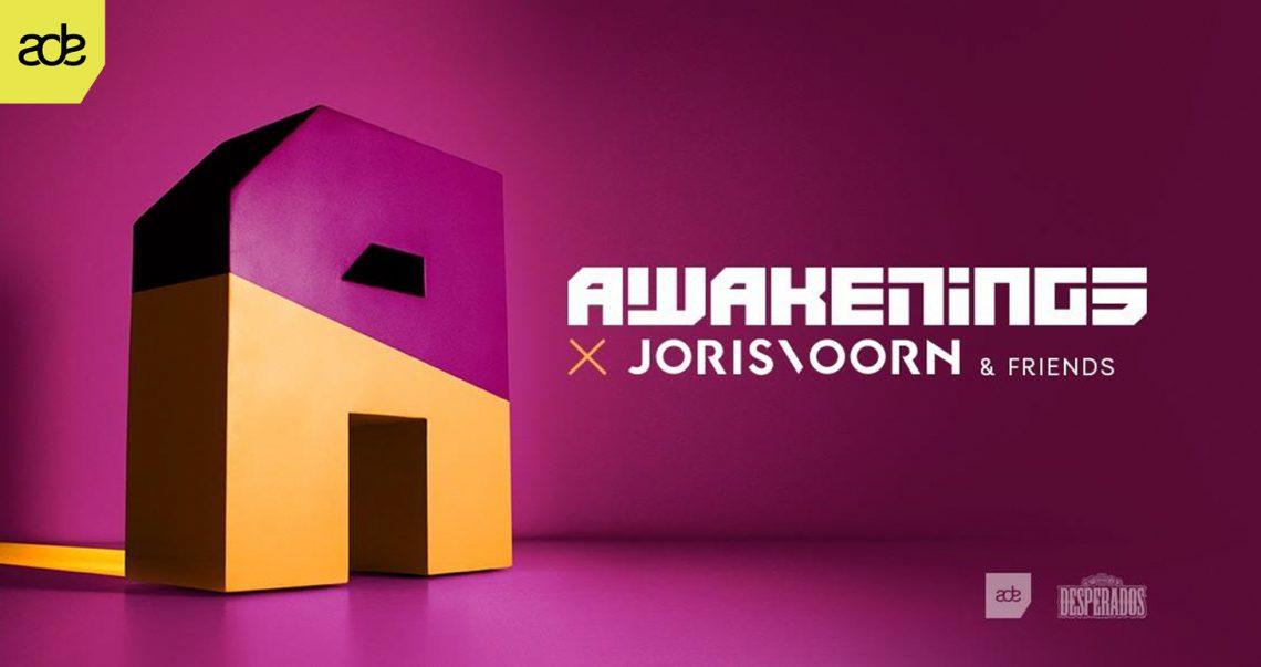 KBK Visuals at Awakenings Joris Voorn and Friends ADE 2017