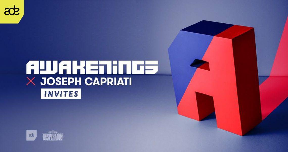 KBK Visuals at Awakenings Joseph Capriati Invites ADE 2017
