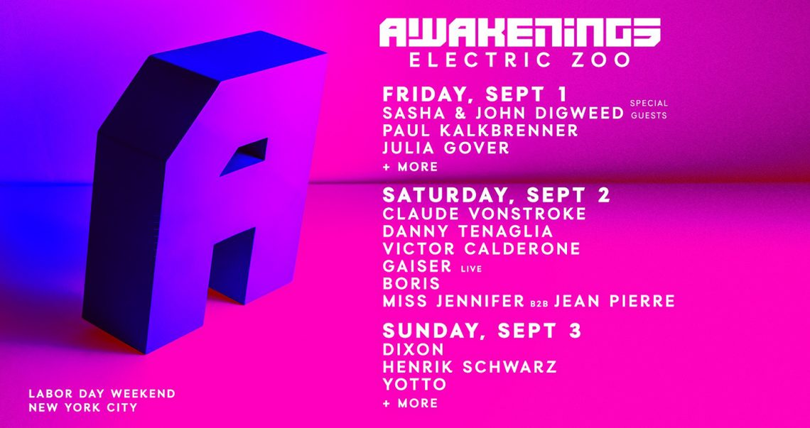 KBK Visuals at Awakenings Electric Zoo