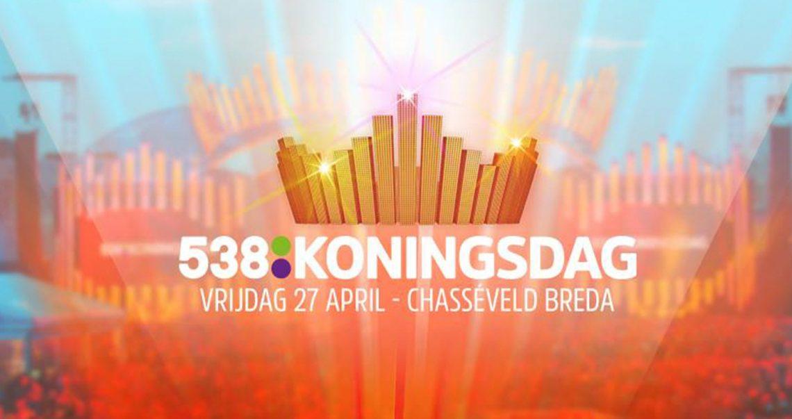 KBK Visuals at 538 Koningsdag with Hardwell