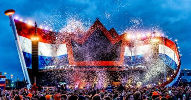 KBK Visuals at SLAM Koningsdag with Hardwell