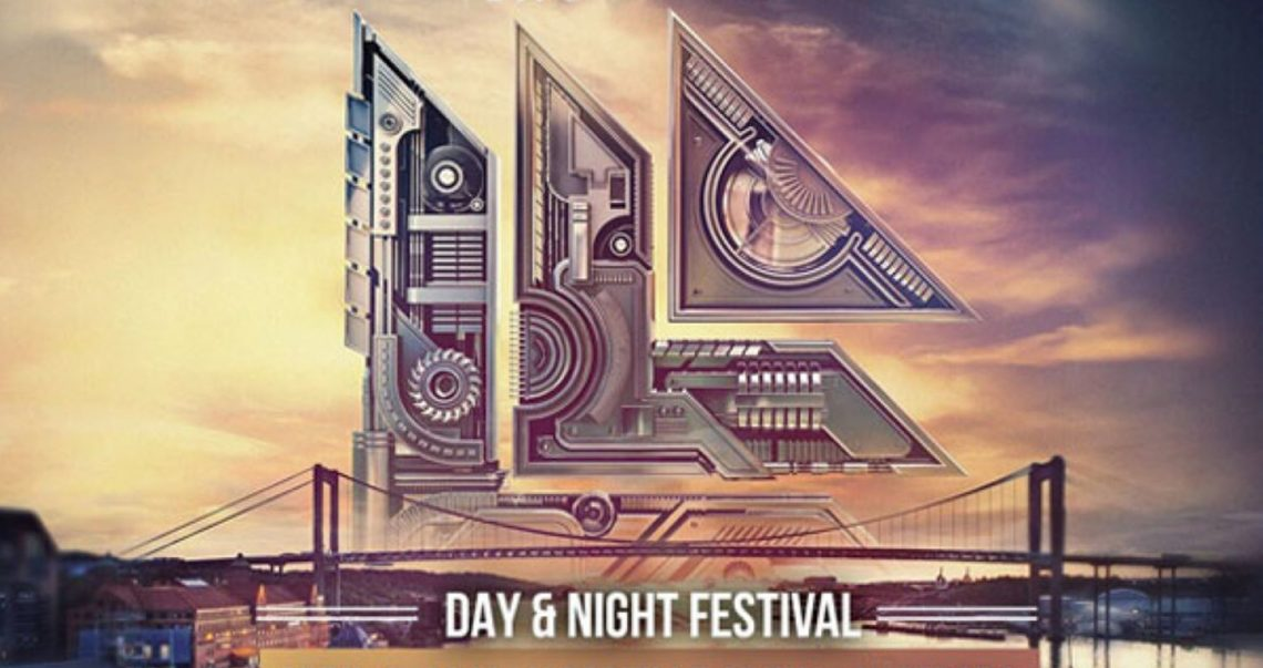 KBK Visuals at Day and Night Festival