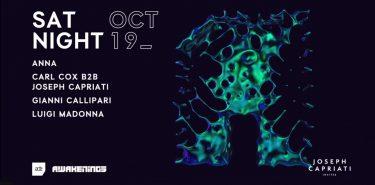 KBK Visuals at Awakenings x Joseph Capriati invites