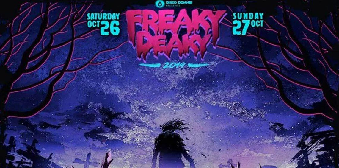 KBK Visuals at Freaky Deaky