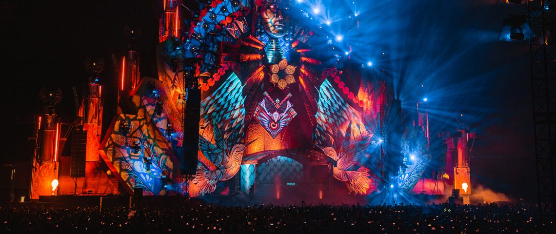 KBK Visuals at Mysteryland 2019