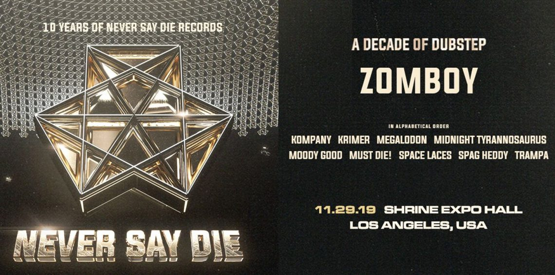KBK Visuals at 10 Years of Never Say Die Records ft. Zomboy