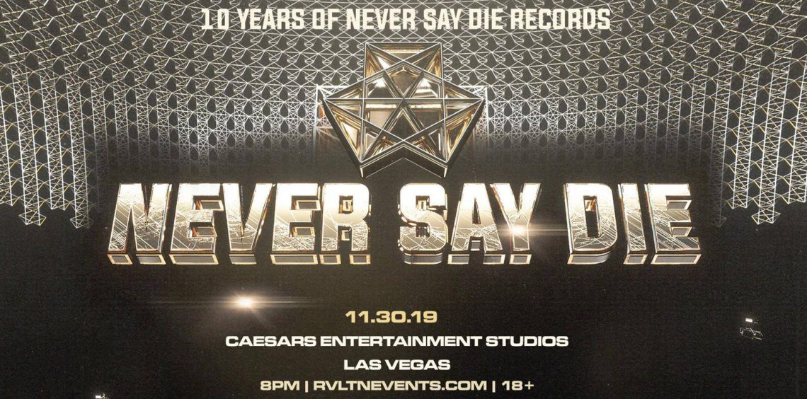 KBK Visuals at RVLTN Presents: Never Say Die — A Decade of Dubstep