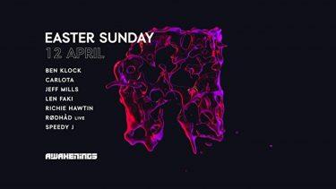 KBK Visuals at Awakenings Easter